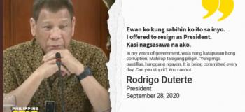 "Hashtag ""#Paalam Duterte"" Resign Viral in Twitter"