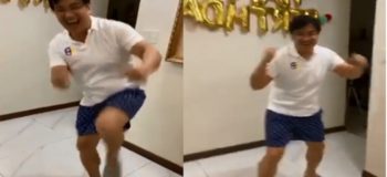 VIDEO: Bong Revilla Dance 'Budots' as a Mañanita To his 55th Birthday Celebration