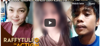 "Watch Raffy Tulfo In Action: 13 Years Old Girl Alias ""Bless""  In Relationship To 27 years ""Allan Saragosa"" Know More Here"