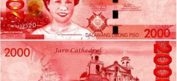 P2,000 paper bill featuring the late senator Miriam Defensor-Santiago Went Viral