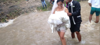 Bride & Groom In Mabinay Negros Oriental Pursue Wedding