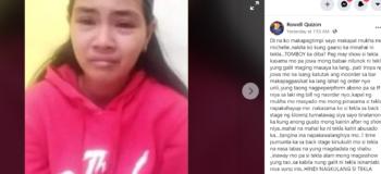 """Rowell Quizon Alleged Michelle Bana-ag Fooled Raffy Tulfo """"Kala Niyo Naka Jackpot Kayo Dahil Sa Financial Aid Na Natanggap Nyo"""""""