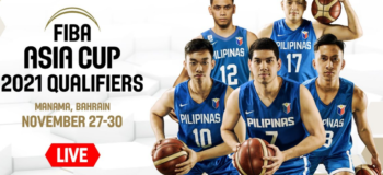 Watch Live: Philippines vs Thailand | FIBA Asia Cup 2021 Qualifiers