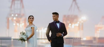 Volleyball Player Melissa Gohing Marries Rocco Nacino