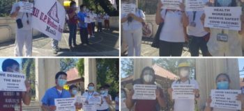 Healthcare Workers Protest against China's Sinovac Biotech 50.4% efficacy rate