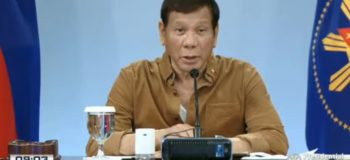 President Rodrigo Duterte delivers another pre-recorded address to the nation (April 15, 2021)
