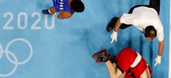 Eumir Marcial TKO Arman Darchinyan, advance to men's middleweight semis in Tokyo 2020 Olympics